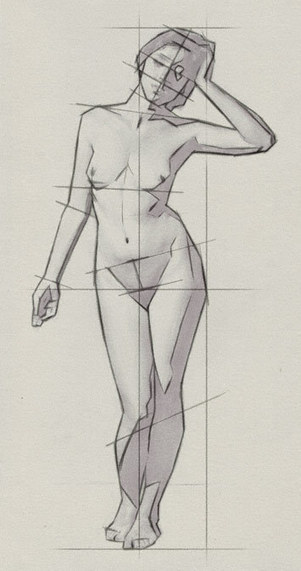 Drawing the Proportions of the Human Body | Artist's Network | Art Education | Scoop.it
