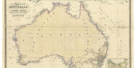 Où est l'Australie? Moins au sud que vous ne le pensez   Ressources pour le cours de Géographie   Scoop.it