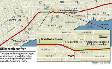 Enbridge oilsands pipeline plan raises chilling issues for Toronto & GTA | Environment & Sustainability | Scoop.it