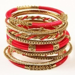 Latest Fashion of Bridal Wear Bangles 2015 Designs | newteenstyle | Scoop.it