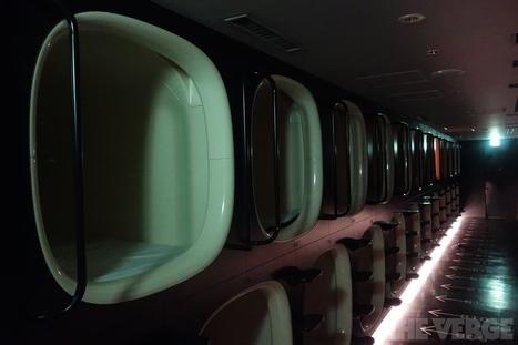 Capsule Hotel : dormir dans un hôtel conçu pour que tu n'y reste pas. | Architecture pour tous | Scoop.it