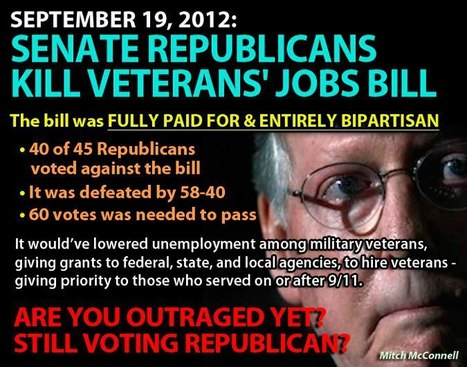 Bill to create Veterans Job Corps fails to advance | The Chaos Node | Scoop.it
