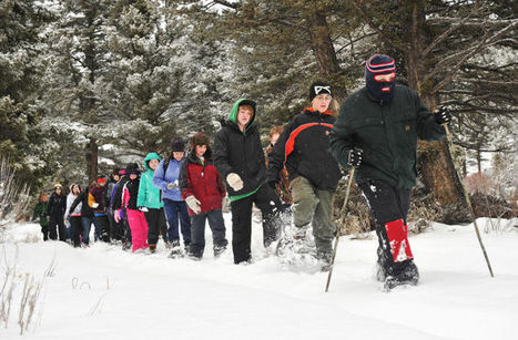 Boulder students get firsthand look at wilderness via snowshoes - Helena Independent Record   Global adventures for schools   Scoop.it