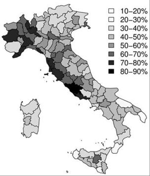 Les noms de famille pour retracer 5 siècles de migrations en Italie | Chroniques d'antan et d'ailleurs | Scoop.it