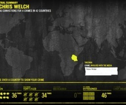 Amnesty International's 'Trial by Timeline' scans Facebook, maps out your ... - The Verge | Multimedia Journalism | Scoop.it