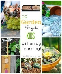 Gardening with kids (activities, projects and ideas) - Craftionary | Gardening with Children to Healthy Nutrition | Scoop.it