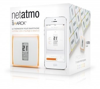 Netatmo : Le thermostat connecté est disponible en précommande | Internet of things - Internet of everything | Scoop.it
