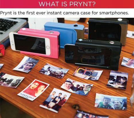 Prynt, la coque-imprimante pour iPhone et Android | Ressources pour la Technologie au College | Scoop.it