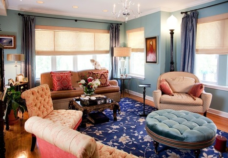 Colors Used by Home Transformation Specialist for Mood Enhancement! | Welcome to Lisa Wolfe's Interior World | interior design | Scoop.it