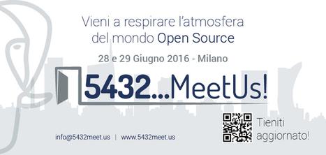 5432... MeetUs: due giorni per parlare di OpenSource | seeweb | Scoop.it