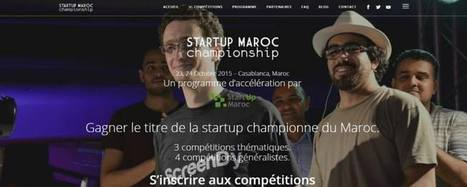 Startup Maroc organise le StartUp Maroc Championship - izitech | Geekkech : just another geek ... | Scoop.it