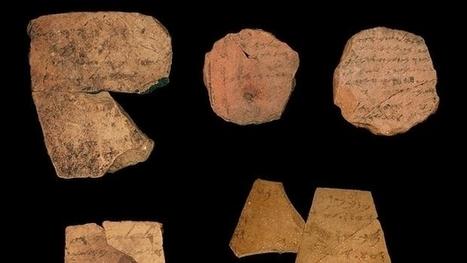 Un estudio sugiere que la primera escritura de textos bíblicos se produjo 600 años a. C.   Palimsesto   Scoop.it