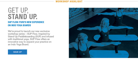 Indo Yoga Board – SUP Flow Classes at Pure Yoga in New York City | balanceandboards.com | Scoop.it