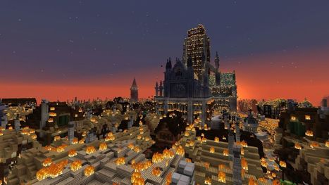 Watch London burn in the Museum of London's incredible Great Fire 1666 Minecraft map | Museums and emerging technologies | Scoop.it