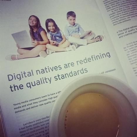 Tutkimus: Diginatiivi tulee ja määrittelee medialle uuden laatustandardin | Opeskuuppi | Scoop.it