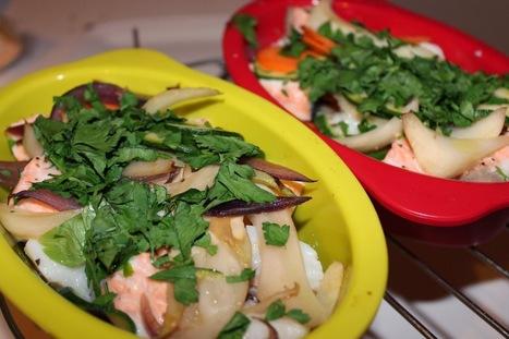 Enkla och Snabba Recept: Fiskpaket pâ tvâ sorter fisk | Recept | Scoop.it