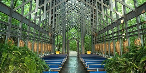 Arkansas' Thorncrown Chapel Is The Glass Church In The Woods 'So Close To ... - Huffington Post | Christianity | Scoop.it