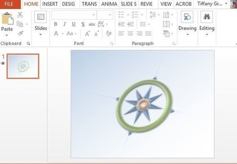 Free 3D Compass PowerPoint Template | PowerPoint presentations and PPT templates | Scoop.it