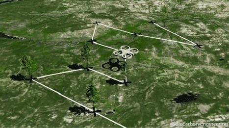 Un drone pourrait planter 1 milliard d'arbres par an | Solutions alternatives pour un monde en transition | Scoop.it