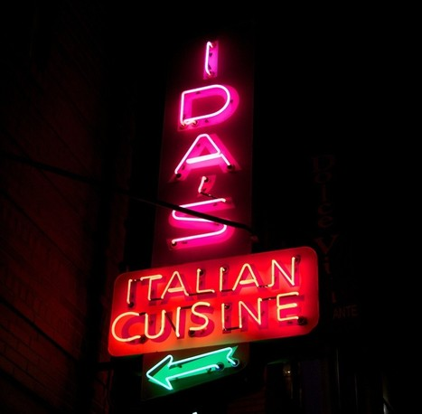 Neighborhood Neon: Ida's Italian Cuisine, Since 1951, Closes Its ... | cuisine | Scoop.it