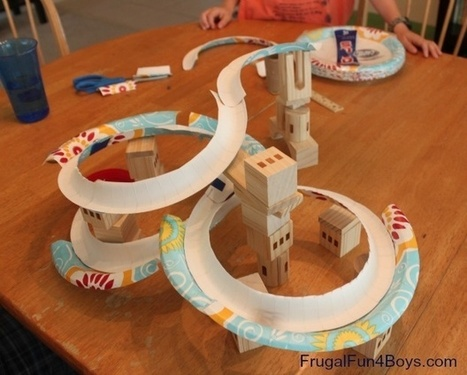 Classroom Ideas - Paper Plate Marble Track | Curriculum Resources | Scoop.it