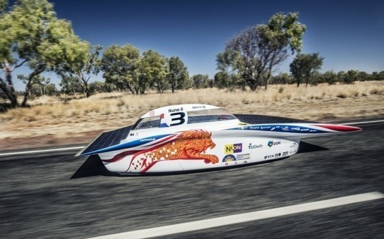 TU Delft Team Wins International Solar Car Challenge