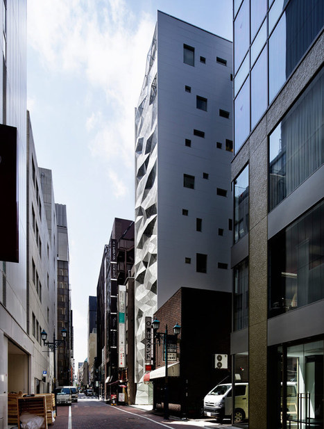 [Ginza, Tokyo] Amano design office: dear ginza bldg. project - designboom | architecture & design magazine | The Architecture of the City | Scoop.it