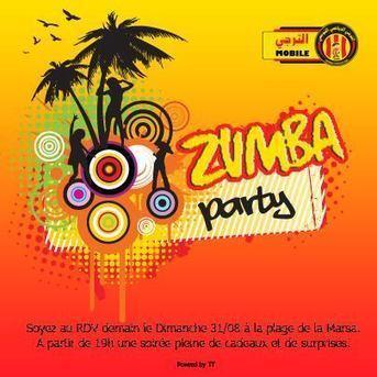 #Zumba_Party Demain 19 h à la #Marsa ! | Taraji Mobile | Scoop.it