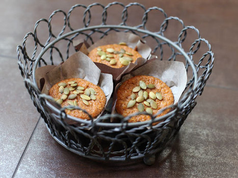 #HEALTHYRECIPE - Low-Fat Carrot Muffins with Pineapple Chunks | Her majesty carrot | Scoop.it