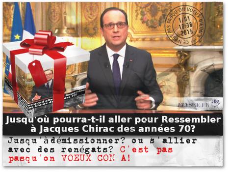 Président Hollande, C'est pas pasqu'on VOEUX qu'on a | Madagascar Forces et Faiblesses | Scoop.it