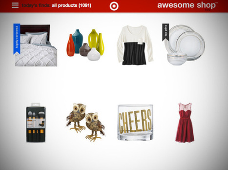 "Target Experiments With A Pinterest-Powered Online Storefront, Dubbed The ""Awesome Shop"" 