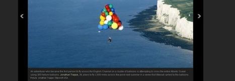 Insolite : il veut traverser l'Atlantique porté par 365 ballons | Aérostation, ballons et dirigeables | Scoop.it