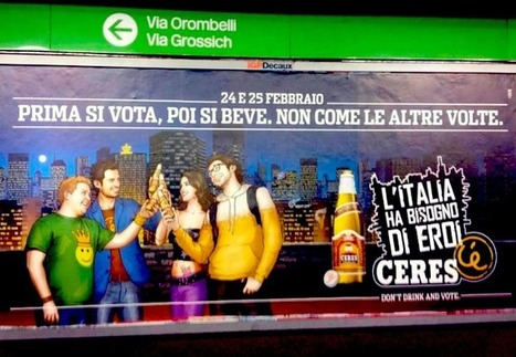 "La campagna virale Ceres ""Don't Drink and Vote"": intervista all'agenzia BCUBE - 