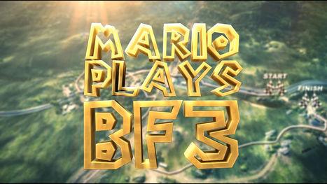 Mario Battlefield Kart   {niKo[piK]}   Vade RETROGames sans tanasse!   Scoop.it