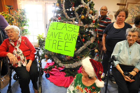 Seniors decry ban on Christmas tree in their complex in Newhall | It's Show Prep for Radio | Scoop.it
