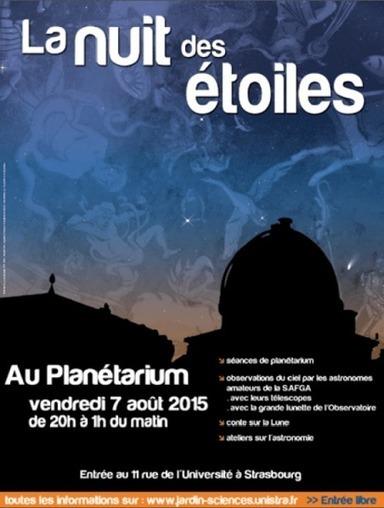 La nuit des étoiles 2015 | Revue de Web par ClC | Scoop.it