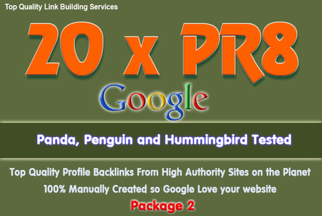 sonyta : I will manually create 20 PR8 Backlinks from PR8 AUTHORITY sites for $5 on fiverr.com | SEO Link Building | Scoop.it