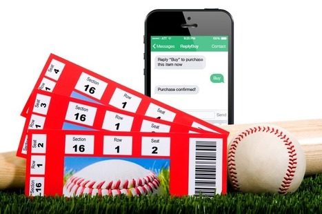 The Future of Sports: Balls, Pucks and Mobile Commerce Ticket Sales | Mobile Marketing | Scoop.it