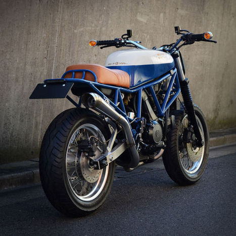 A different kind of Ducati Scrambler | Ductalk Ducati News | Scoop.it