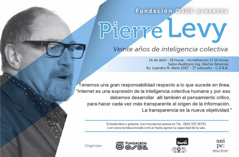 Veinte años de Inteligencia Colectiva - Pierre Levy | The Semantic Sphere | Scoop.it