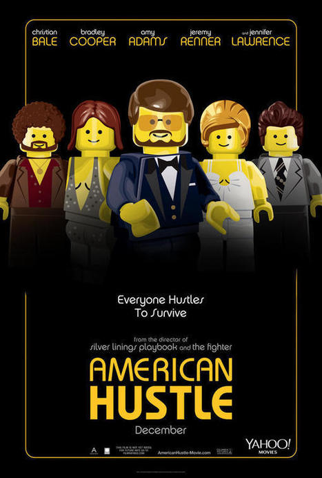 Watch the Oscar Nominees Recreated as Playful LEGO Movie-Inspired Posters   News around the web   Scoop.it