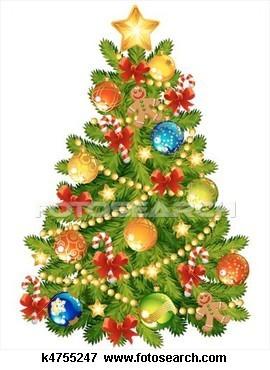 Les décorations pour le sapin de Noël   FLE enfants   Scoop.it