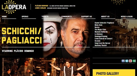 Domingo to sing Puccini's 'Gianni Schicchi' to open Los Angeles Opera Season ! | Opera singers and classical music musicians | Scoop.it