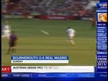 Real Madrid Striker Cristiano Ronaldo Breaks A Boys Arm in a free kick | amazing news | Scoop.it