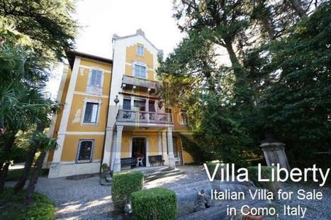Italian Villa for Sale in Como, Italy | Real Estate Marketing | Scoop.it