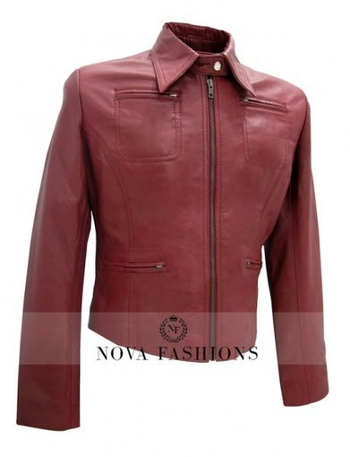 Once Upon A Time Jacket | Emma Swan Leather Jacket | Current Fashion Updates - 2015 | Scoop.it