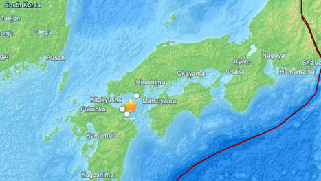 6.3-magnitude quake strikes off S. Japanese island of Kyushu   Overcoming the World with Truth and Understanding   Scoop.it