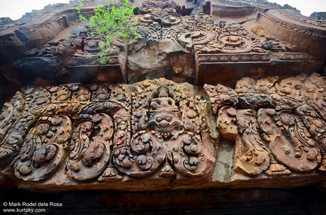 Banteay Srei Temple and the hands of a woman | kurtzky | Pinoy Travel Bloggers Journal | Scoop.it