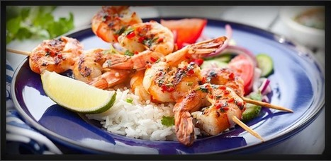Garlic Shrimp Grilled with Tequila | American Food | Scoop.it