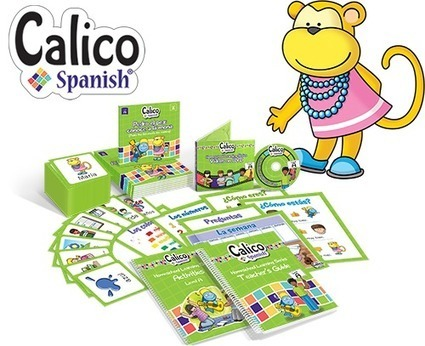 Homeschool Spanish Curriculum: Calico Spanish - Spanish Playground | Preschool Spanish | Scoop.it